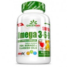 Amix-GreenDay® Super Omega 3-6-9 90softgel kapsula