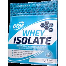 6PAK Whey Isolate 2kg cokolada
