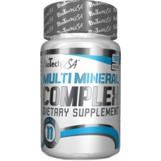 BioTech Multi Mineral complex 100tab.